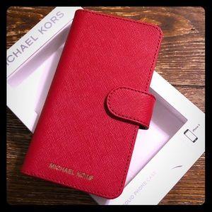 ❣️NWT Michael Kors iPhone X Leather Phone Case❣️